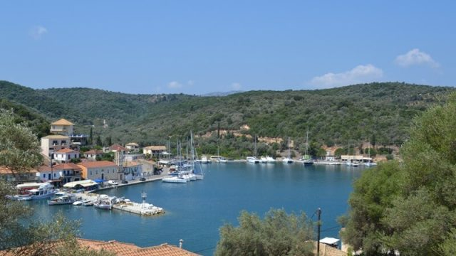 "Meganisi in Lefkas, one of the 20 greek unkonown islands in ""the guardian""'s list"
