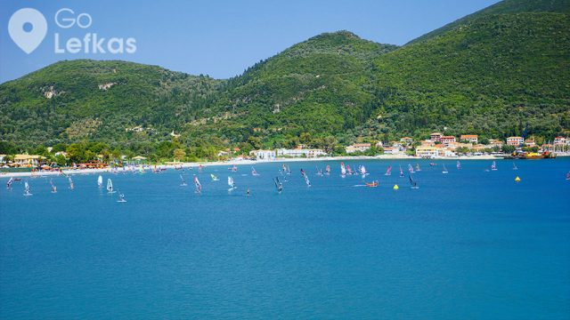 Lefkada in the 10 best Windsurfing destinations in Greece