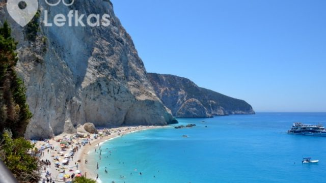Porto Katsiki beach, Lefkada-One the most beautiful beaches in Mediterranean