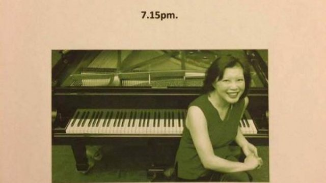 Piano concert by Julie Lowe at the Cultural Centre of Lefkada