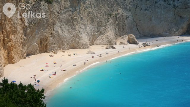 Porto Katsiki in Lefkada the perfect beach for those who don't like sand