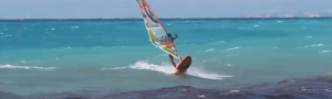 Windsurfing in Lefkas - Milos Beach (video)