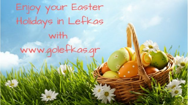 Enjoy your Easter Holidays in Lefkas